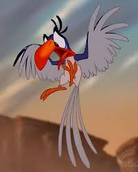 Disney Film: The Lion King 1994 Zazu