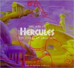 The Art of Hercules by Rebello and Healey Book Cover