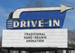 Drive-in Marquee Hand-drawn Animation