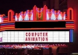Theater Marquee Computer Animation