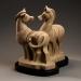 A Matter of Opinion, sculpture by Ellen Woodbury