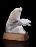 Rebound, sculpture by Ellen Woodbury