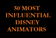 50 Most Influential Disney Animators