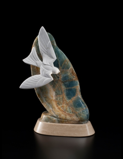 Sky Life, sculpture by Ellen Woodbury
