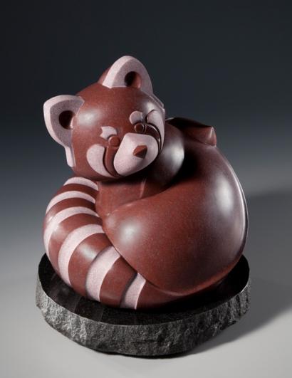 Fire Fox, sculpture by Ellen Woodbury