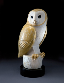 The Untypical Owl, sculpture by Ellen Woodbury