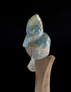Solo (detail), sculpture by Ellen Woodbury