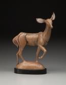 Listen Hard, Walk Softly, sculpture by Ellen Woodbury