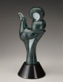 Exuberant, sculpture by Ellen Woodbury