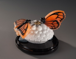 Monarchs Matter, sculpture by Ellen Woodbury