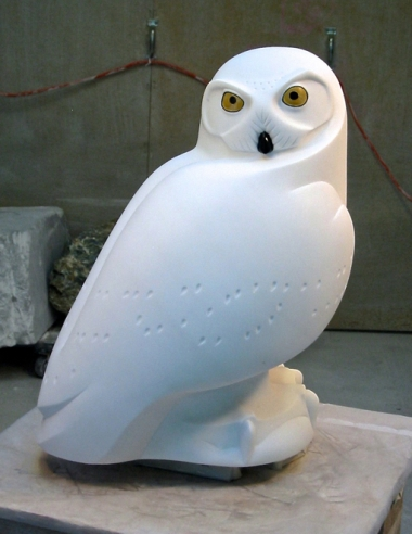 The King of Winter, sculpture by Ellen Woodbury