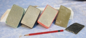 Ellen Woodbury Sculpture Tools: Diamond Sanding Pads