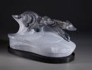 Run! sculpture by Ellen Woodbury