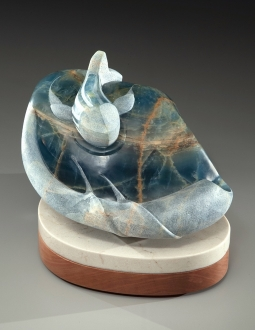 Clean Water, sculpture by Ellen Woodbury