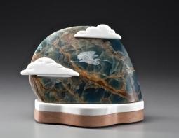Fresh Air, sculpture by Ellen Woodbury