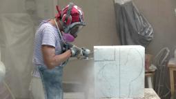 Stone Sculptor Ellen Woodbury Carves Marble into Fine-Art Animal Sculptures