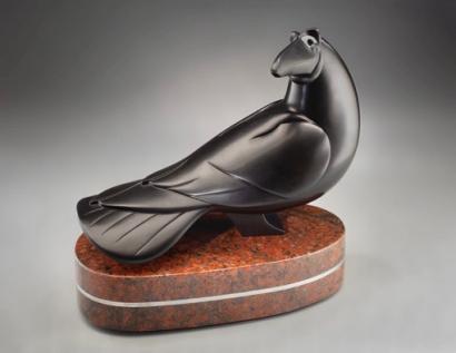 Merry Trickster, sculpture by Ellen Woodbury