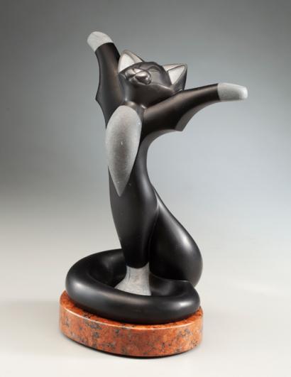 Celebrate, sculpture by Ellen Woodbury